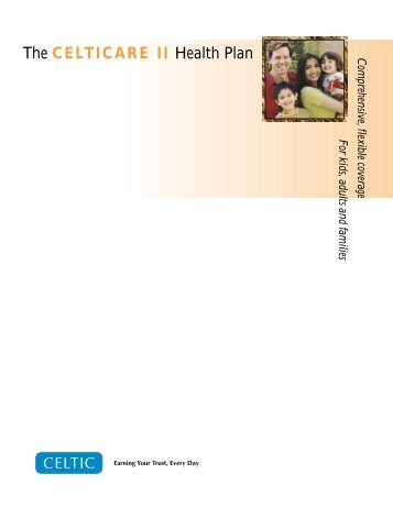 CeltiCare II Plan Brochure - Long Term Consumer Care, Inc.