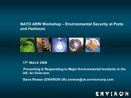 Preventing & Responding to Major Environmental ... - Risk Trace