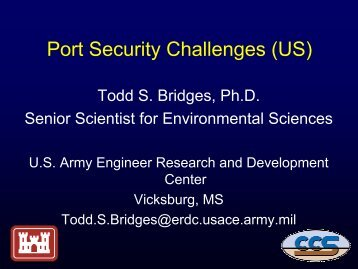 WG#1 Ports Security - Risk Trace