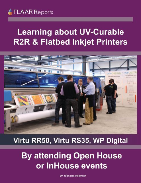 Learning about UV-Curable R2R & Flatbed Inkjet Printers By ...
