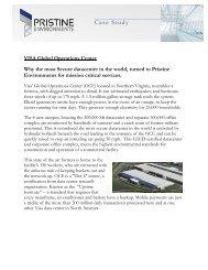 VISA Global Operations Center - KBM Facility Solutions