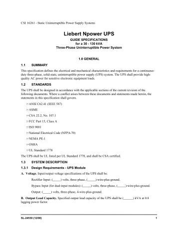 Ups net 80 User manual