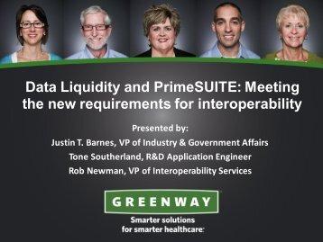 Presentation slides - Greenway Medical Technologies