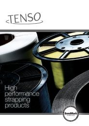 High performance strapping products - Hazel Products