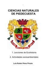 Colección Ciencias de Piedecuesta:  Tomo 1 Ciencias Naturales de Piedecuesta