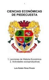 Colección Ciencias de Piedecuesta: Tomo 3 Ciencias Económicas de Piedecuesta.