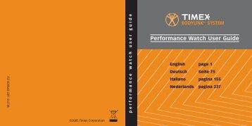 Performance Watch User Guide - Optik Saar GmbH