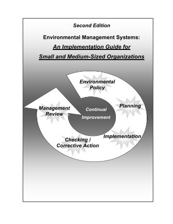 An Implementation Guide for Small and Medium-Sized ... - FedCenter