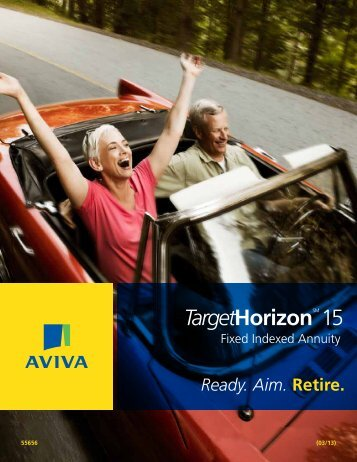 Aviva Target 15 brochure - PFG Marketing Group, Inc.