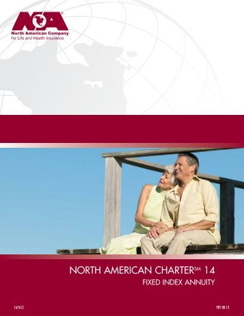 north american charter 14 annuity brochure - Immediate Annuities