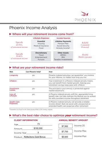 For Income Analysis - PFG Marketing Group, Inc.
