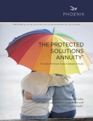 THE PROTECTED SOLUTIONS ANNUITY - PFG Marketing Group, Inc.