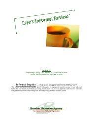 Informal Inquiry - Borden Hamman Agency