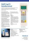 Delfi Cap73 håndterminal - Page 2