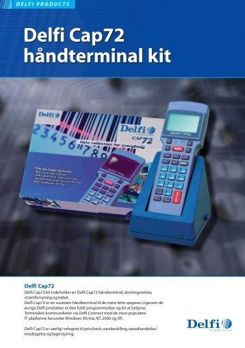 Delfi Cap72 håndterminal kit Delfi Cap72 håndterminal kit