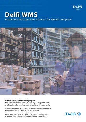Delfi WMS handheld terminal program Software for handheld ...