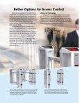 Optical Passageways and Waist-High Turnstiles - Xiscontrols.com - Page 2