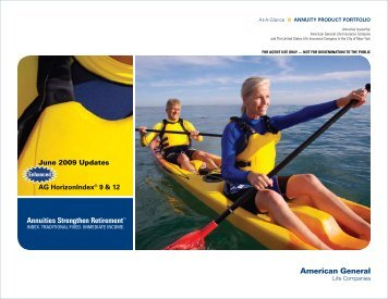 June 2009 Updates AG HorizonIndex® 9 & 12 - Fixed Annuity Agent ...