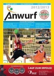 Zwei starke Partner - TSV Landsberg - Handball