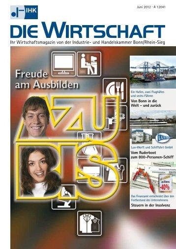 IHK Die Wirtschaft Juni 2012 - IHK Bonn/Rhein-Sieg
