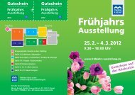 Frühjahrs Ausstellung - Messe Kassel
