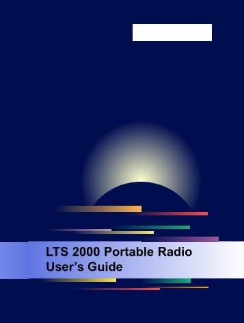 LTS 2000 User Gd Cover