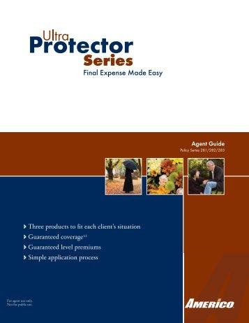 Ultra Protector Agent Guide - Shorelinefg.net