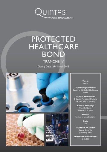 Quintas Protected Healthcare bond - Adelphi Financial Brokers