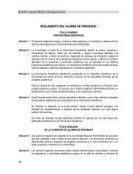 reglamento del alumno de pregrado - Universidad Andrés Bello
