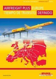 Descargar Folleto DHL Airfreight Plus