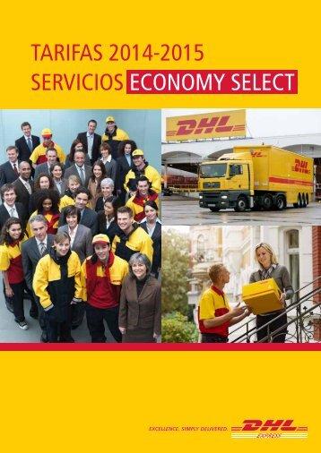 Tarifas 2013-2014 sErViCiOs ECONOMY sELECT - DHL