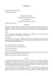 Consiglio di Stato – Sentenza n. 5132 del 28.9.2012 - Gilda Venezia