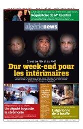 Fr-24-08-2013 - Algérie news quotidien national d'information