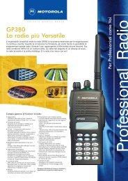 GP380 La radio più Versatile - Televideosnc.com