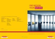 Download DHL Supply Chain Brochure