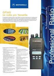 GP360 La radio più Versatile - Televideosnc.com