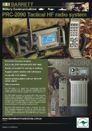 PRC-200 Tactical HF disystem