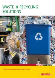DHL Envirosolutions Waste & Recycling Brochure
