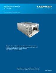 PI-500 Power Inverter - Dallas Avionics, Inc.