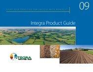 Integra Seed Catalog