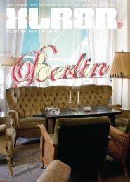 BEST oF BERlIn: ShopS RESTAuRAnTS & CAFéS - Xlr8r