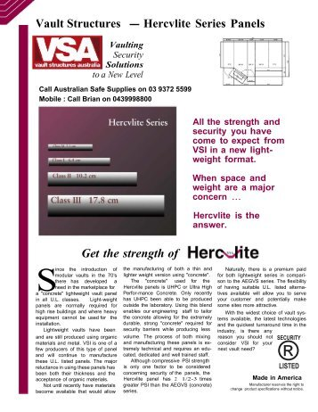 Information - S.A. Safe Supplies