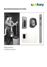 E-KEY HOME - W.T.G. Türen GesmbH