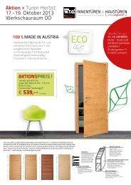 Aktionsblatt - W.T.G. Türen GesmbH