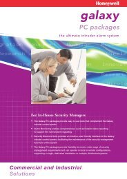 Galaxy PC Packages PDF 190 Kb - Sonic Security Services Ltd
