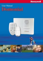 Domonial User Guide - Christie Intruder Alarms