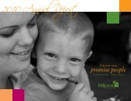 promise people - Hillcrest Family Services