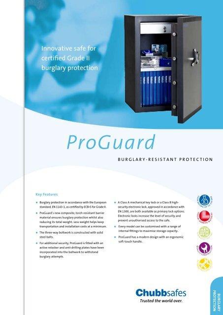 ProGuard - Chubb Safes