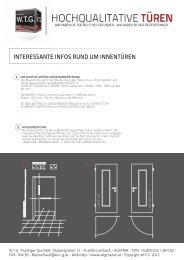 planungsphase - W.T.G. Türen GesmbH