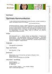 Optimale Kommunikation - HaraldKriegbaum.de
